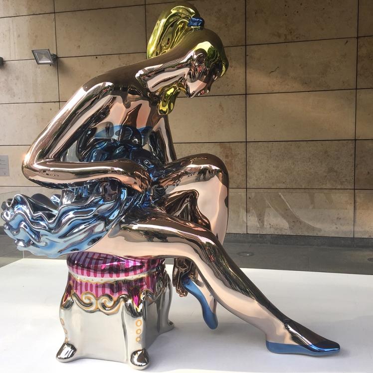 """Seated Ballerina"", de Jeff Koons"